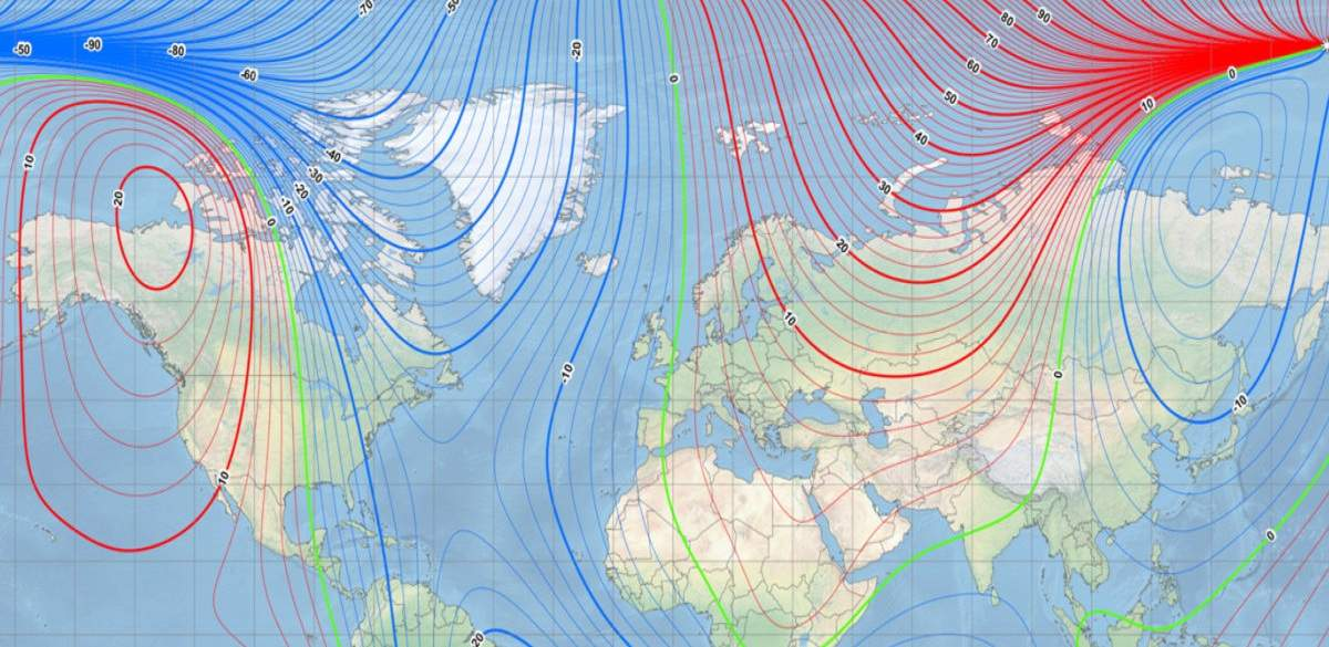 Earth's Magnetic North Pole Continues Drifting