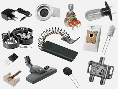 Polparts - Your supplier for all (electronic-) repair / replacement / spare parts in appliances & electronics!